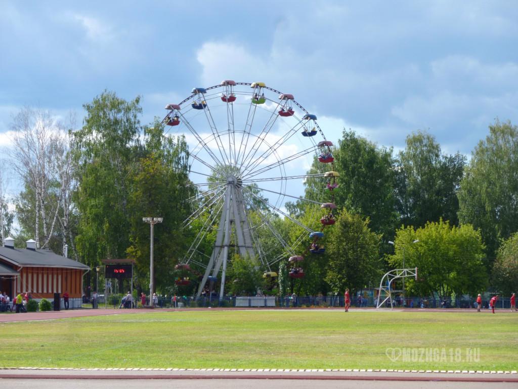 Колесо обзора в парке
