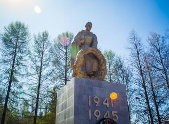 Мемориал воинам, погибшим в ВОВ и умершим от ран в госпиталях г. Можги