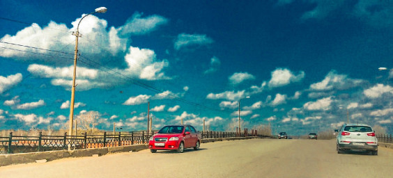Центральный мост, Можга